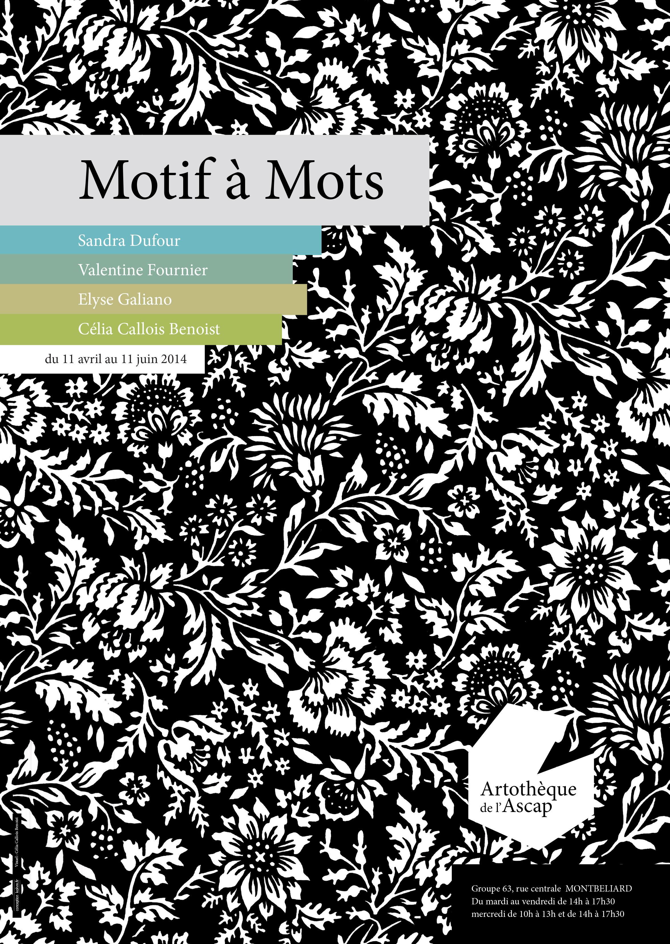 Cours De Dessin Montbéliard motif à mots | cnap
