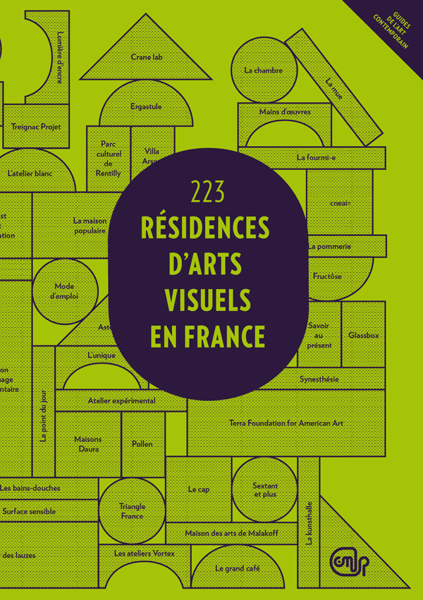 Guide « 223 résidences d'art visuel en France »