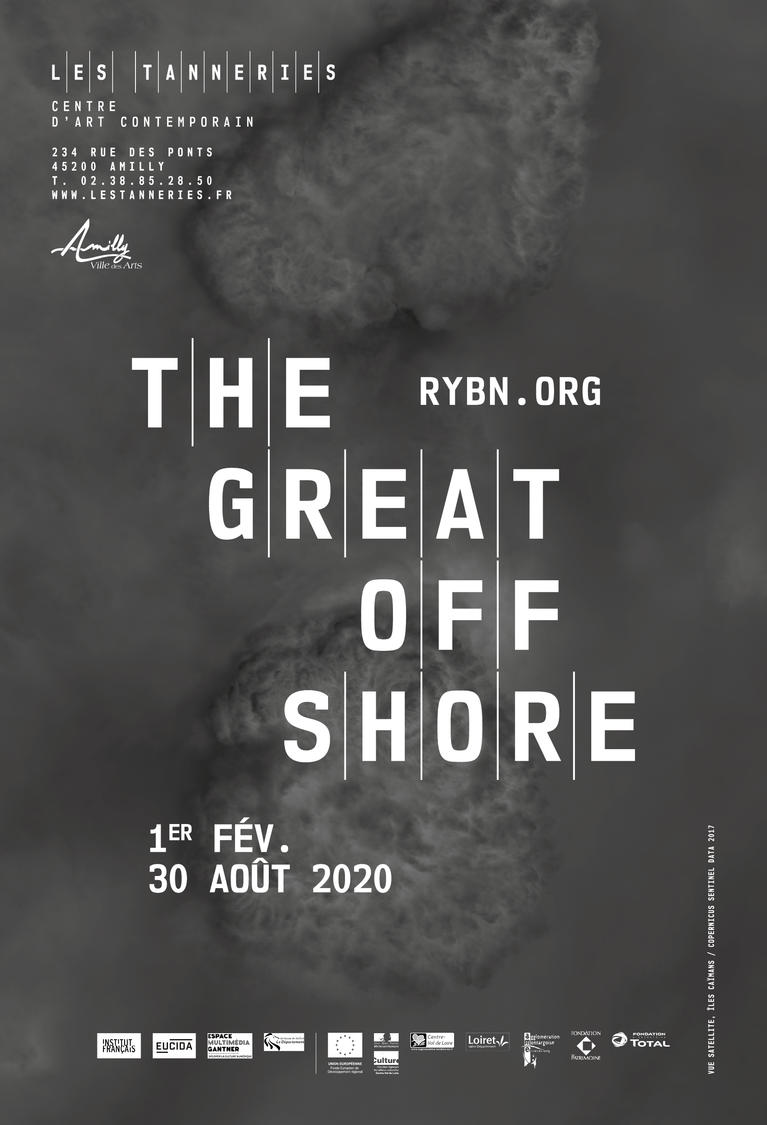 Exposition The Great Offshore - Affiche officielle