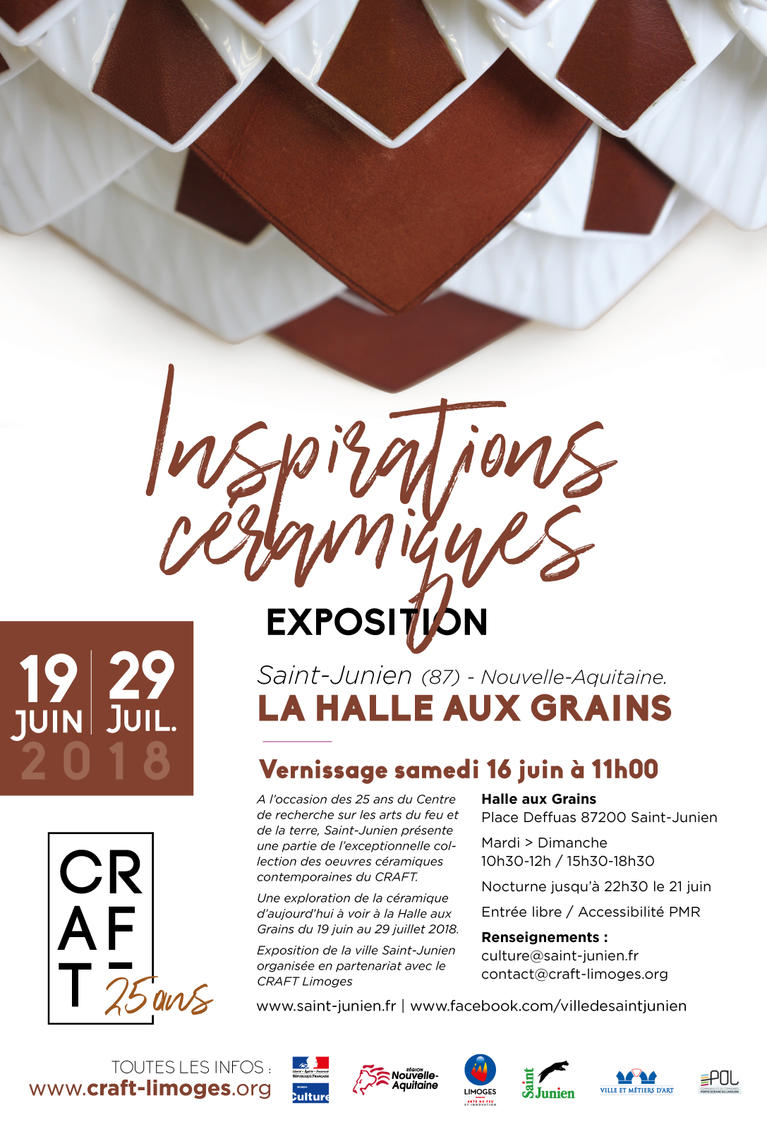 exposition halle aux grains - Saint-Junien (87)