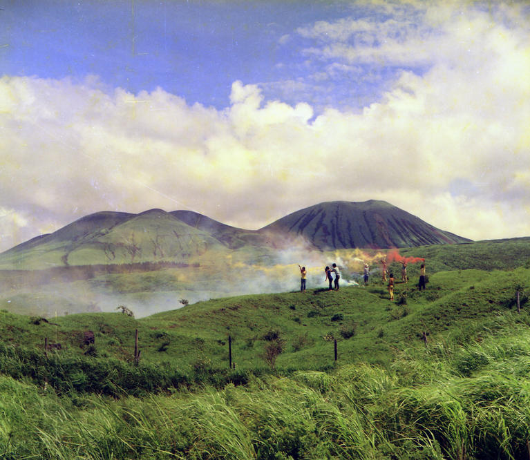 The Play | Cross Meetin', Mount Aso, Kyushu, 1969