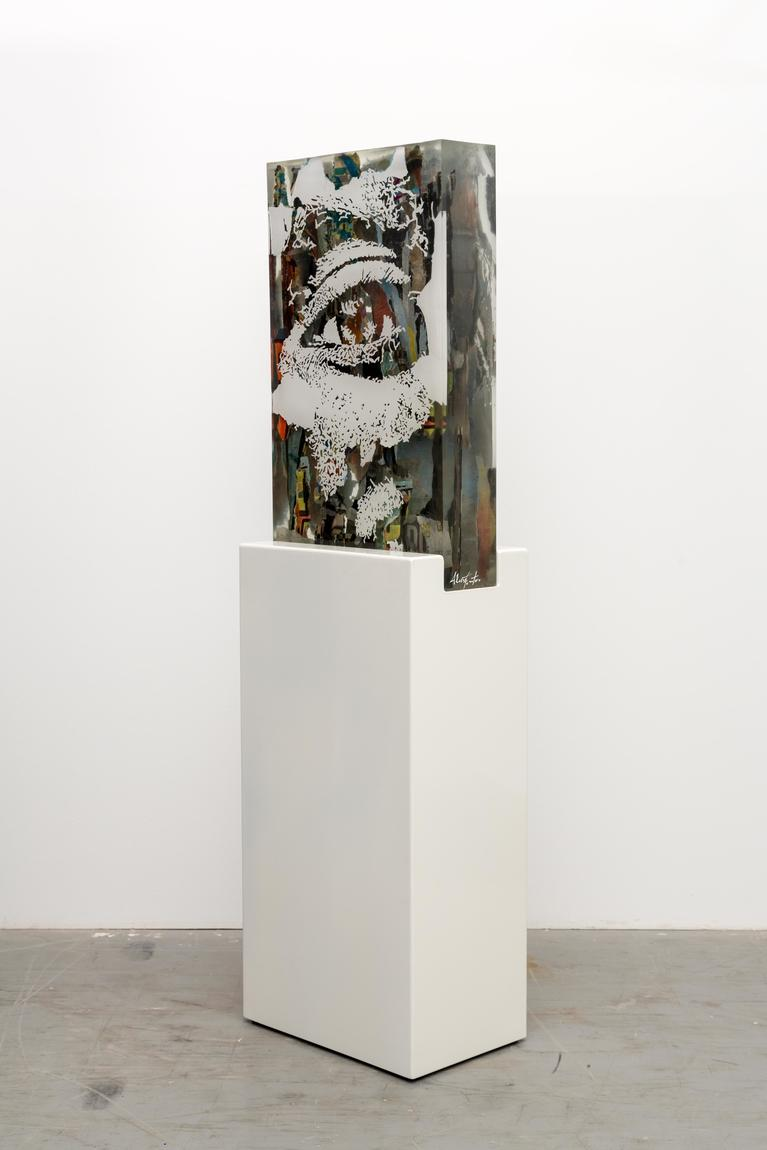 Resin block, Vhils