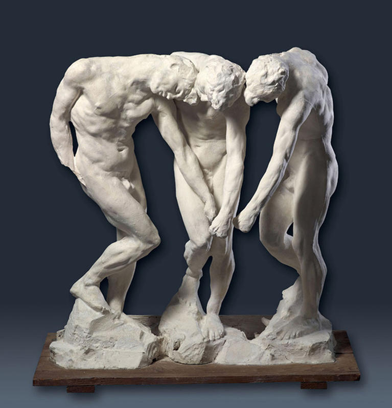 Auguste Rodin, Les Ombres, vers 1885