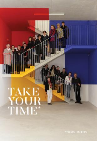 Visuel de l'exposition Take your time