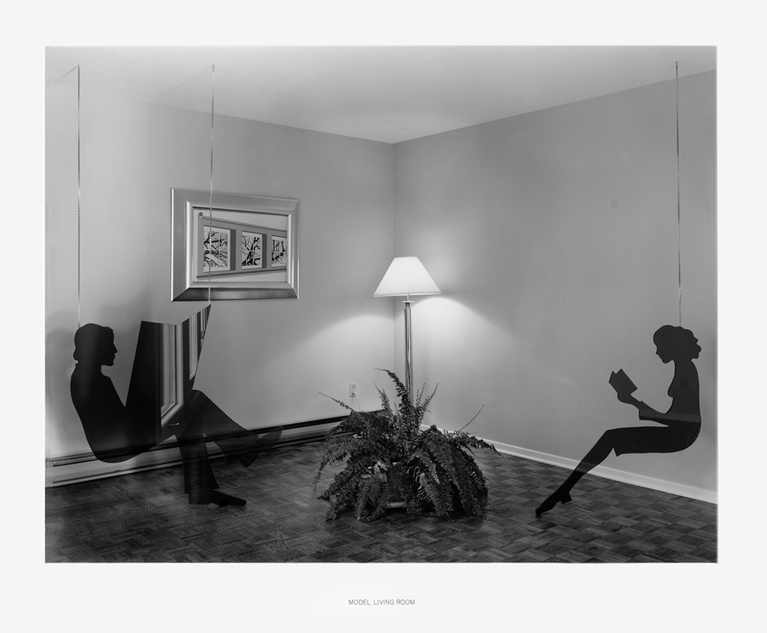 Lynne Cohen, Model Living Room, 1978-1984