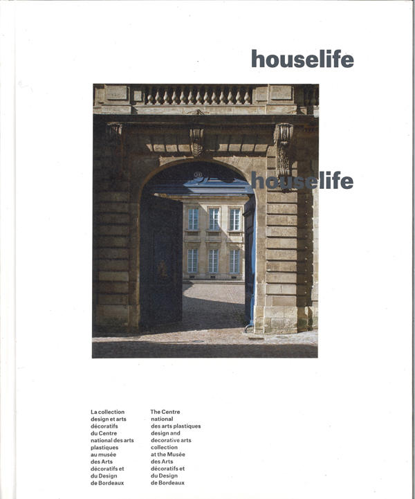 Couverture du catalogue d'exposition houselife