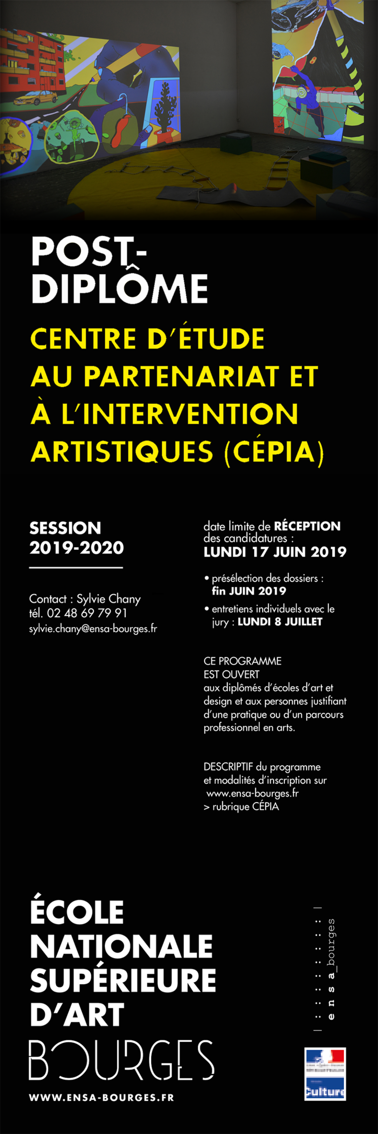 Galerie D Art Bourges École nationale supérieure d'art de bourges | cnap